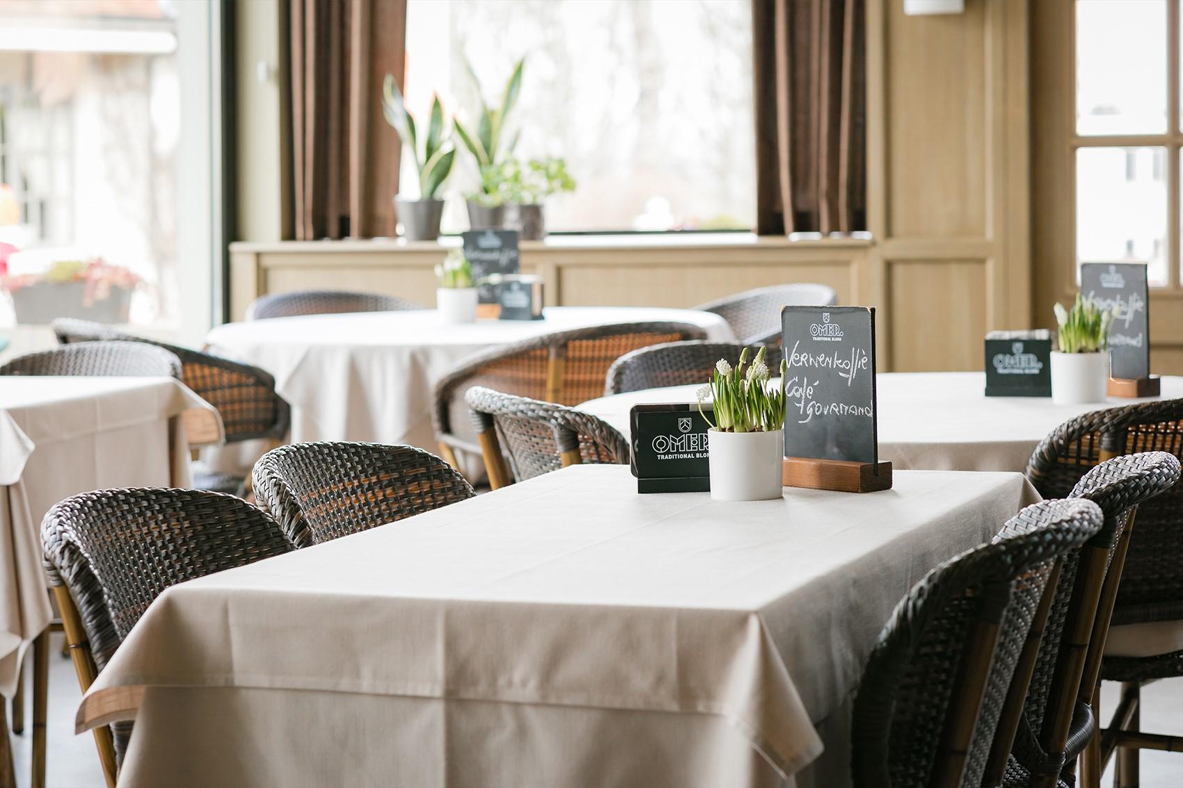 Gasthof Palace Feeszaal Gastronomie Restaurant Tearoom Kluisberg | Salles des fêtes Mont de l'Enclus
